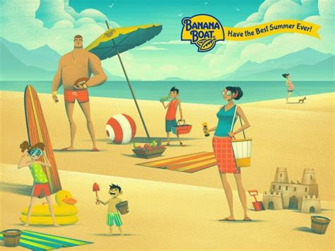 banana boat ad get ready for the bestsummerever with banana boat 174 ic