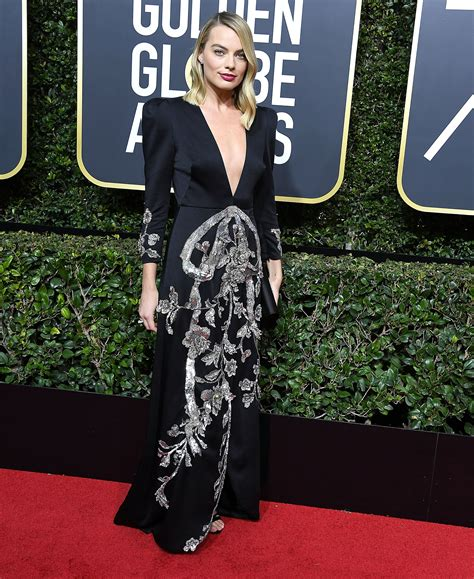 Unimpressed By Globes Dress Choices by The Bold Fashion Choices At The 75th Golden Globes Awards