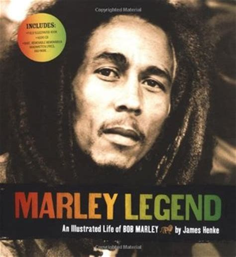 biography of bob marley book marley legend an illustrated life of bob marley by james