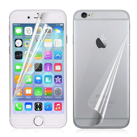 one set front back screen protector guard for iphone 5 5s 5c 6 6s plus ebay