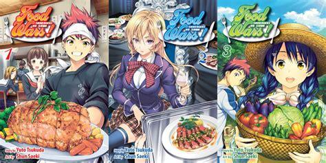 Food Wars Vol 2 Shokugeki No Soma food wars shokugeki no soma vol 1 3 review aipt