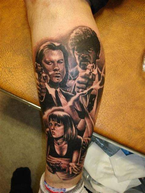 pulp fiction tattoo pulp fiction