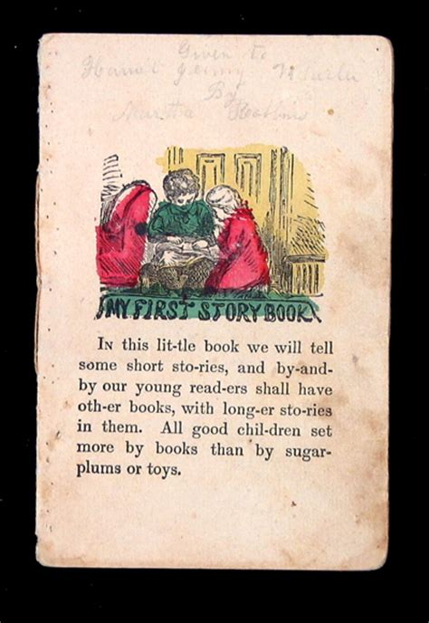 what is a picture story book my story book a 19th c juveniles book