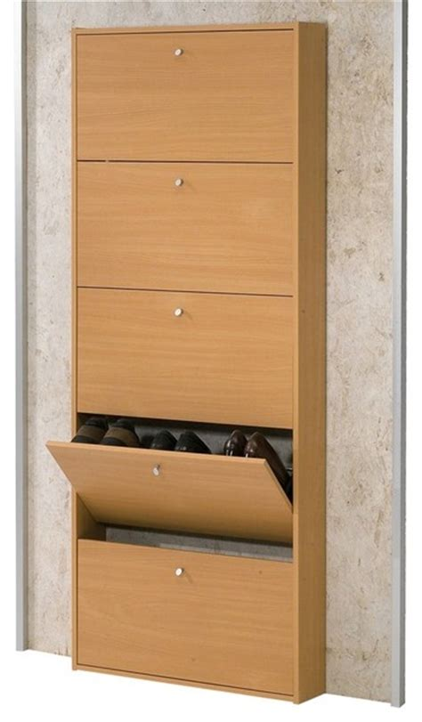 tvilum beech wood shoe storage modern closet storage