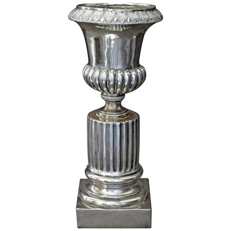 Silver Vases For Sale Italian Neoclassical Silver Vase For Sale At 1stdibs