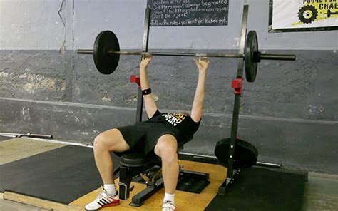 bench press throw exercise database push train with purpose