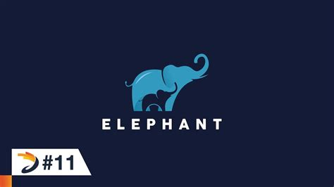 illustrator tutorial elephant illustrator tutorial create an elephant logo with