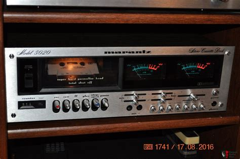 marantz cassette marantz 5020 cassette deck photo 1303430 canuck audio mart