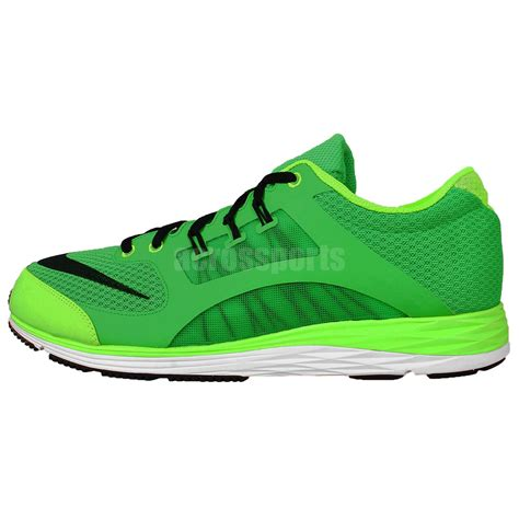 lime green athletic shoes nike lunarspeed axl green lime black mens running shoes