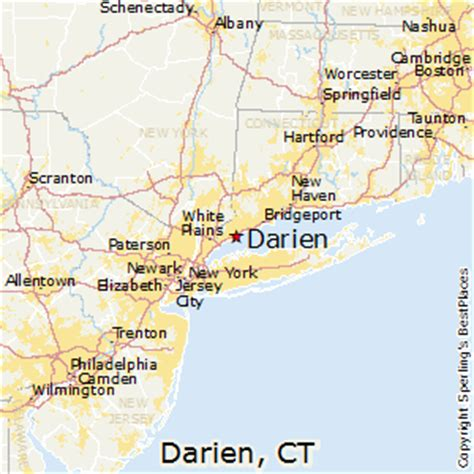 best places to live in darien connecticut