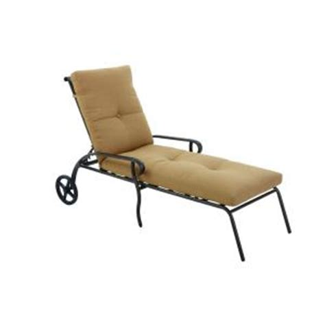 chaise lounge cushions home depot hton bay westbury adjustable patio chaise lounge with