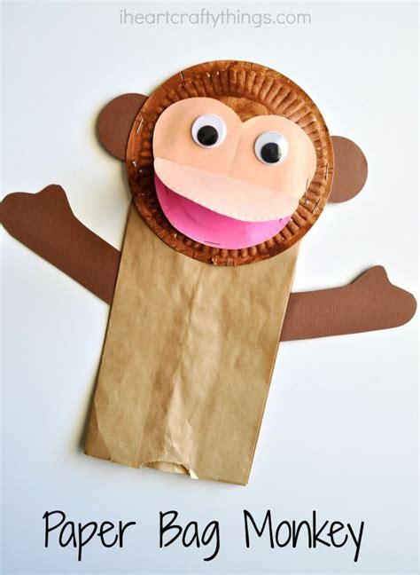 How To Make A Paper Monkey - 599 best paper plate crafts for images on