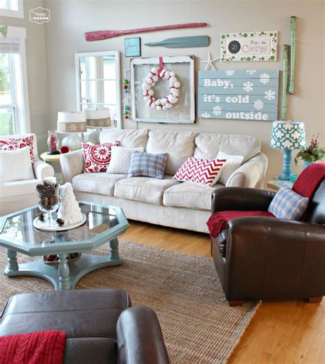 living room tour 41 christmas decoration ideas for your living room designbump