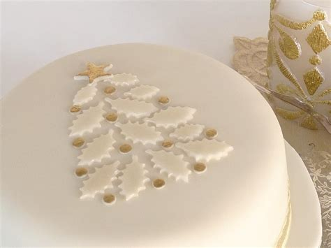 easy classy christmas tree from fondant you to see cake by janice