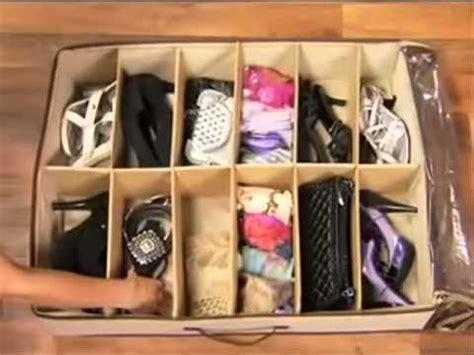 organizador de zapatos en www comprasin com youtube video demostrativo organizador de zapatos anunciado en tv
