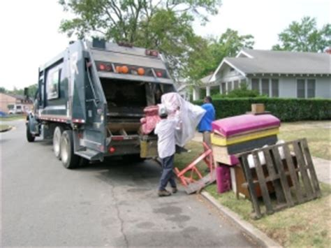 waste management couch pick up solid waste city of little rock