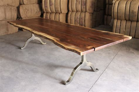 edge wood table home living wood design toronto muskoka ontario canada