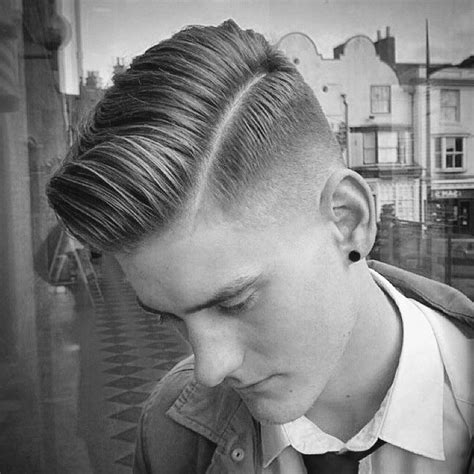 mens haircut hard part 50 low fade haircuts for men a stylish middle