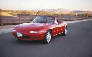 Madza Mx 5 Covered Mazda Mx 5 Miata Motor Trend Covers From 1989 Present