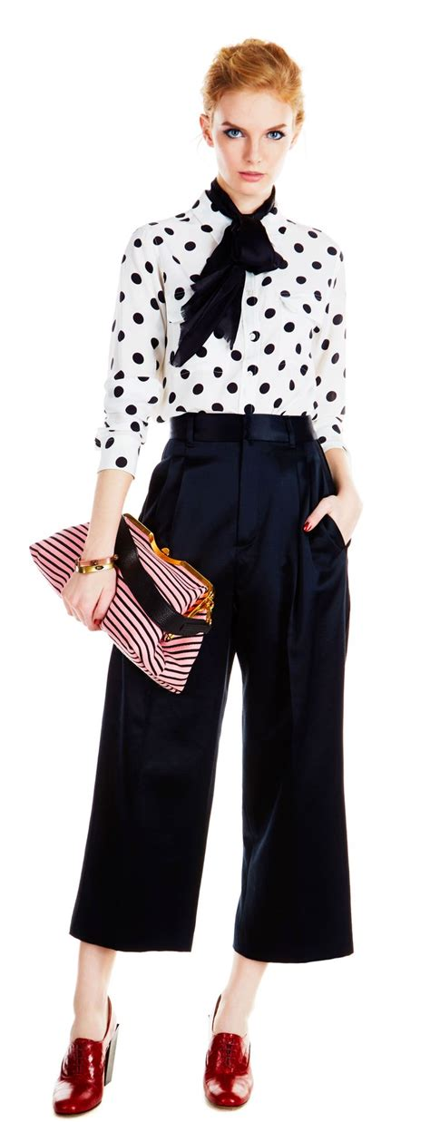 Overall Stripe Blouse mix clashing prints like polka dots and stripes equipment slim signature blouse 248 in