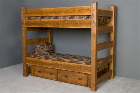 cabin bed with trundle and drawers barnwood bunk bed with drawers