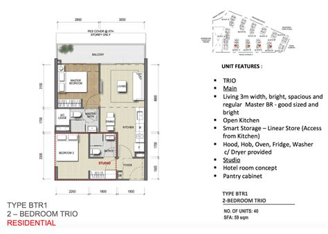 Northpark Residences Floor Plan by New Condo Launch Park Residences