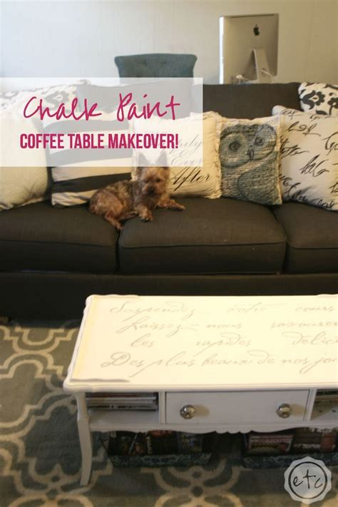 chalk paint coffee table 1000 ideas about painted coffee tables on