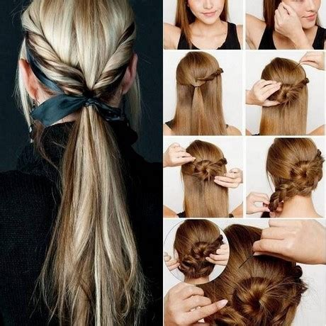 hairstyles easy home easy to do at home hairstyles