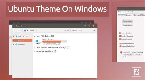 download themes ubuntu for windows 7 get ubuntu linux theme for windows 10 and windows 7