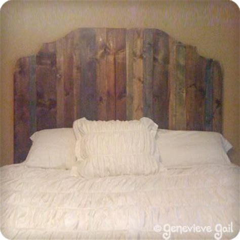 homemade wooden headboards 22 best images about bedrm on pinterest diy headboards
