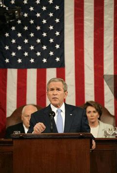 State Of The Union Bush Admits Climate Needs Attention by Living On Earth Political Climate Change