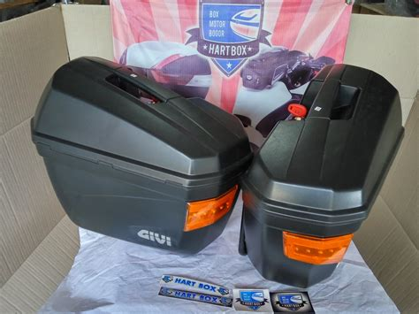 Box Motor Givi E19n By Hartbox mengenal box motor merek givi shad kappa kmi dan bracket