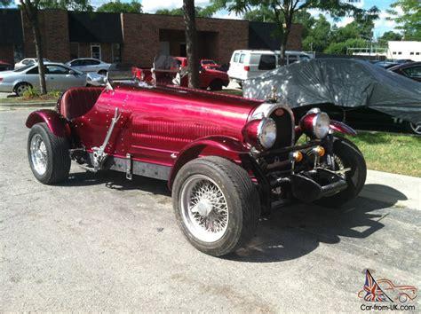 custom bugatti 1929 bugatti t35 other replica 1986 build nice custom paint