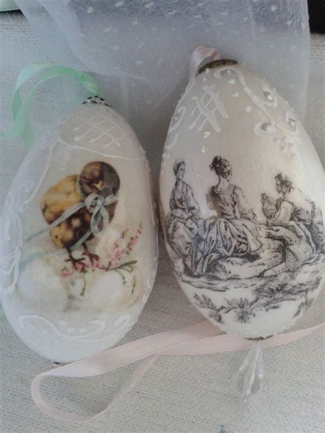 Decoupage Easter Eggs - 129 best images about decoupage easter eggs on