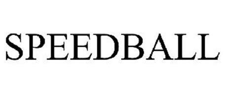 speedball logo speedball trademark of professional tennis registry inc