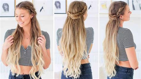 hairstyles for school luxy hair fishtail braid half up hairstyle tutorial luxy hair