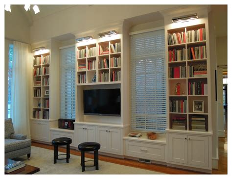 finding the best wall bookcases in living room