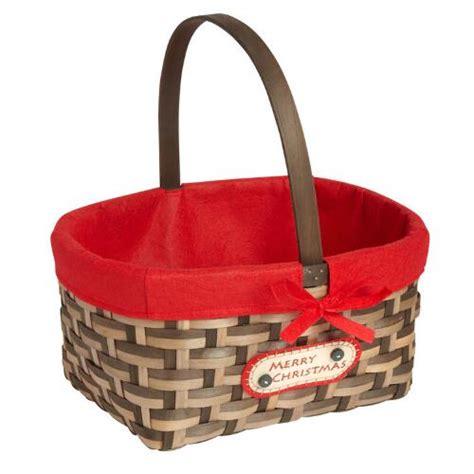 merry christmas gift basket christmas tree shops andthat