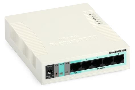 Modem Router Mikrotik 5 port router mikrotik routerboard 751g 2hnd wifi 802 11n gbe poe usb