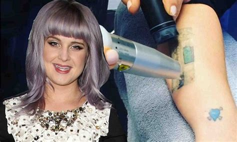 kelly osbourne tattoos removed osbourne the start of process to