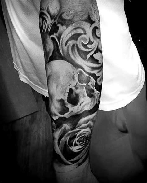 Motorrad Ekg Tattoo by 90 Filigree Tattoos For Men Ornamental Ink Design Ideas