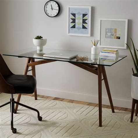 Jensen Desk West Elm West Elm Small Desk