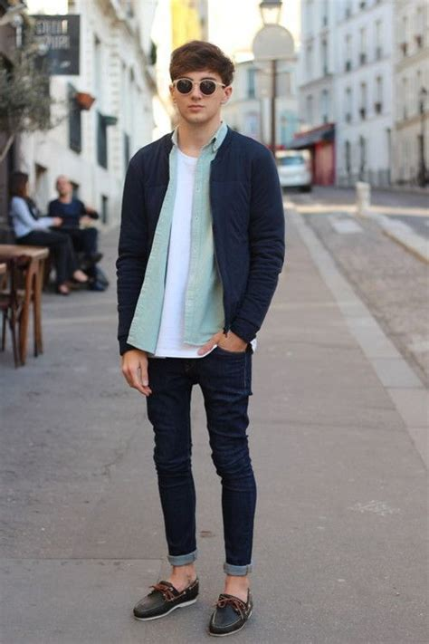 boat shoes jeans mens outfits with sperry shoes 22 ideas on how to wear