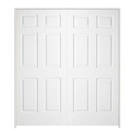 double doors interior home depot jeld wen textured 6 panel hollow core primed molded double