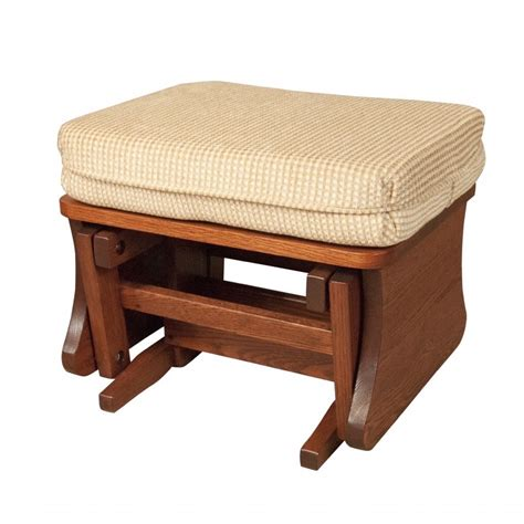 ottoman amish crafted furniture