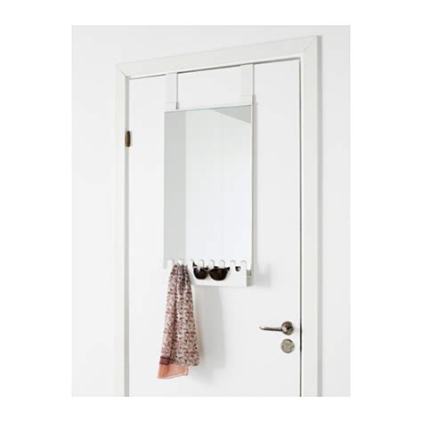 Door Hanging Mirror by Garnes The Door Mirror Hooks Shelf Door Hanging White Furniture Source Philippines