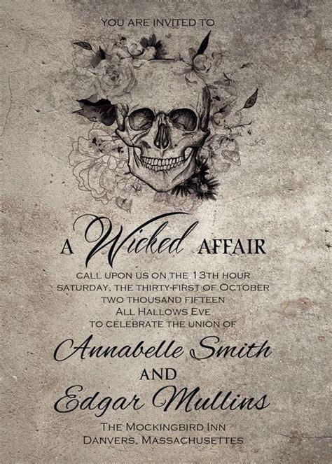 masquerade rsvp cards microsoft publisher template spooktacular wedding invitations