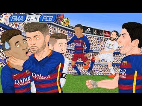 imagenes de river y real madrid parodia animada del real madrid 0 4 barcelona 21 11 2015