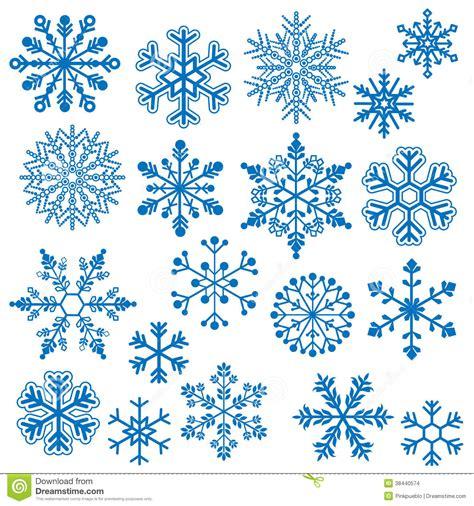 Vecteurs De Flocon De Neige Images Stock Image 38440574 Dessin De Flocon De Neige A Imprimer L