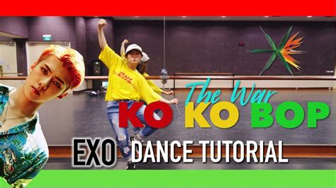 tutorial dance kokobop exo ko ko bop dance tutorial full w mirror charissahoo